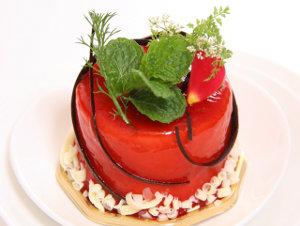 Listi melise na torti
