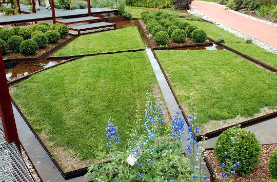 Moderni vodni vrt