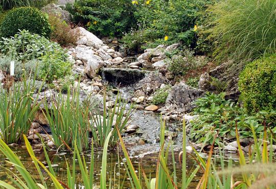 Izvor vode u vrtu