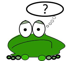 Žaba z vprašajem