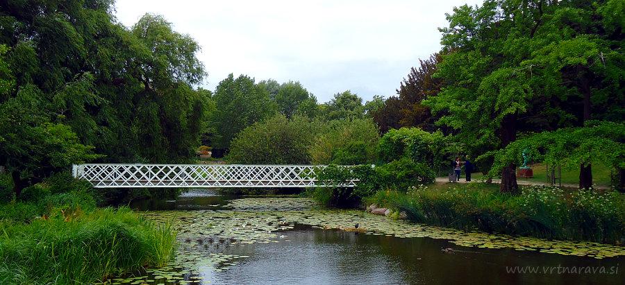 Botanični vrt Kobenhavn - most