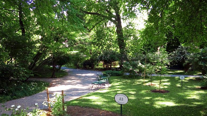 Botanični vrt Zagreb - sprehod po poteh